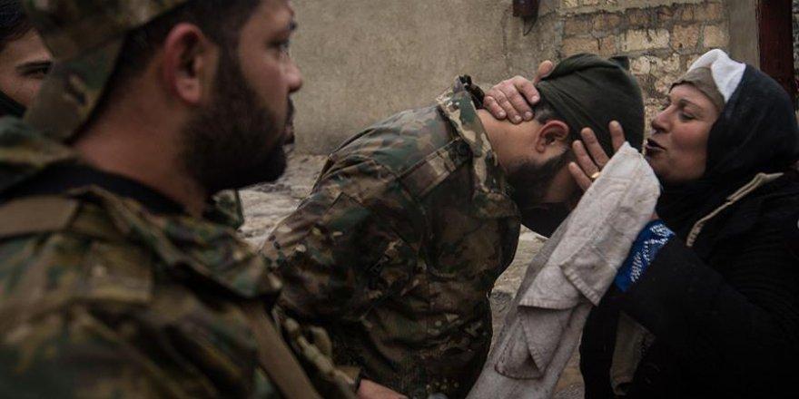 Afrin'in Şenkal Köyünde Sevinç Gözyaşları