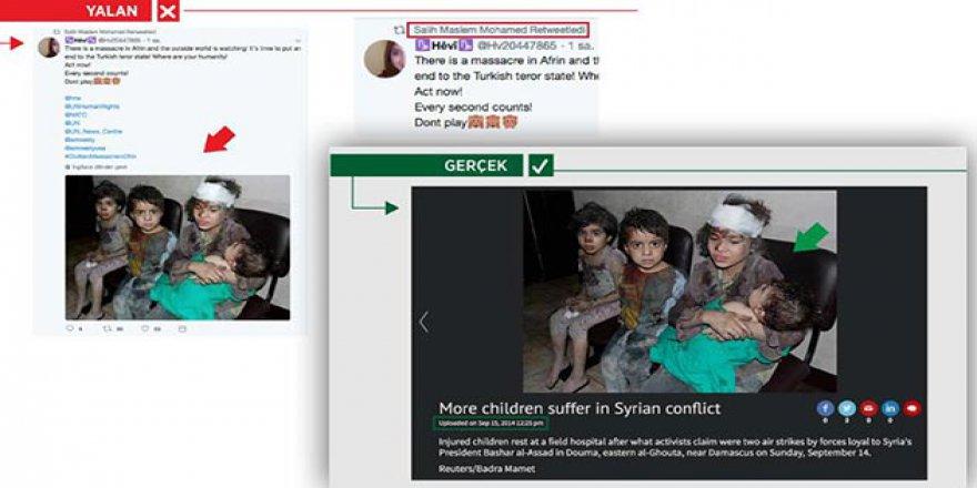 PYD/PKK'nın Bir Afrin Yalanı Daha Ortaya Çıktı