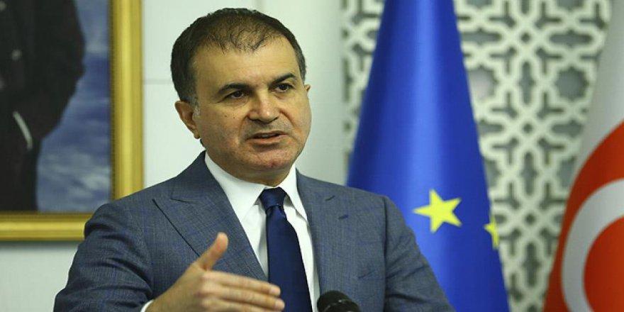 AB Bakanı Ömer Çelik'ten CHP'ye ÖSO tepkisi