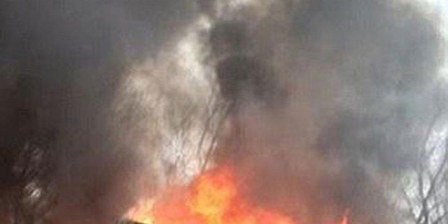 Halep'te Hava Saldırısı: 5 Ölü!