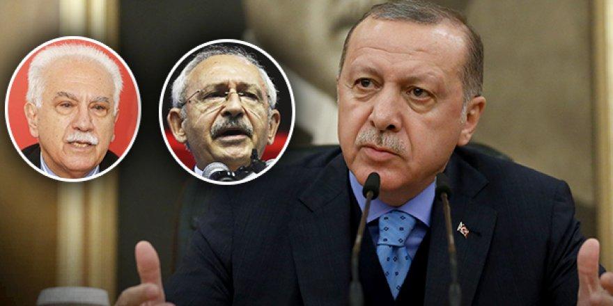 Cumhurbaşkanı Erdoğan'dan Katil Esed'in Dostları Perinçek ve Kılıçdaroğlu'na Tepki