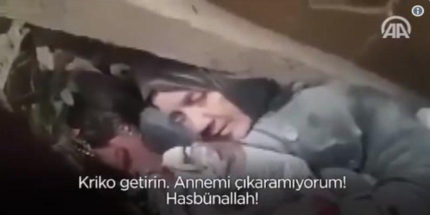 'İnsanları Kurtarıyorum Seni Kurtaramıyorum Anne'