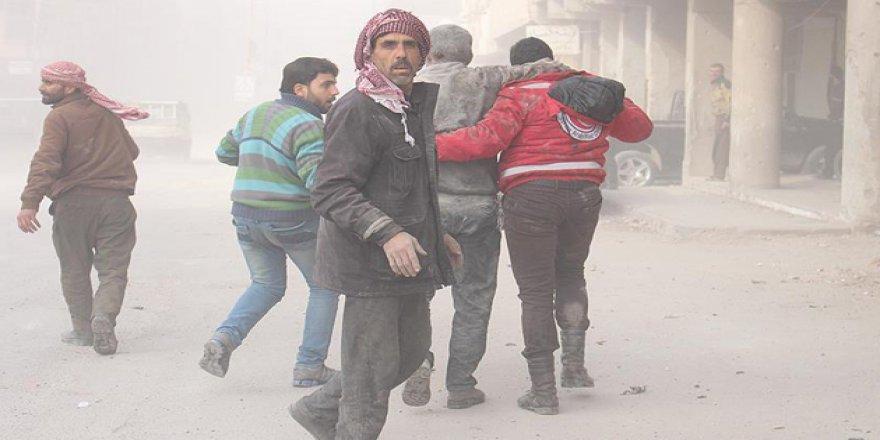 """Suriyeli Aktivistlerden """"Guta'yı Kurtarın"""" Kampanyası"""