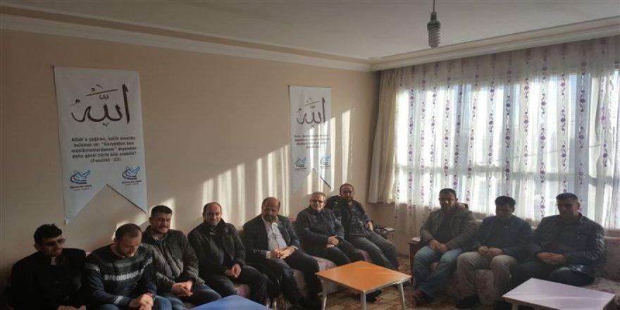 Özgür-Der Doğu-Güneydoğu Anadolu Şube ve Temsilciliklerinden Tuşba Özgür-Der'e Ziyaret