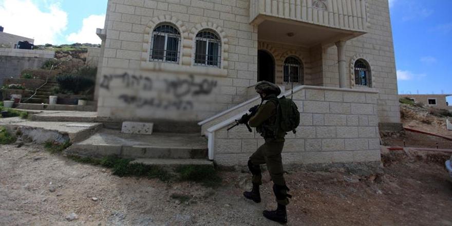 Batı Şeria'da Siyonistlerden Filistinlilere Irkçı Saldırı!