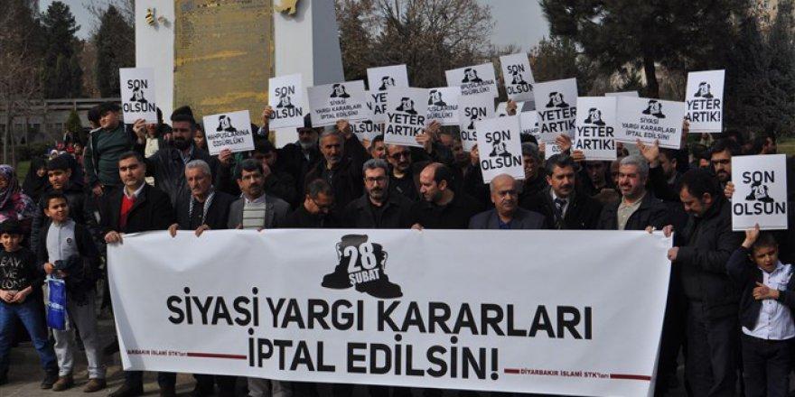 Diyarbakır'da 28 Şubat Protestosu: Yeter Artık!