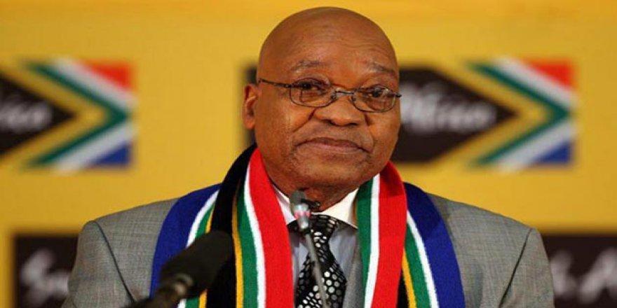 Güney Afrika Devlet Başkanı Zuma İstifa Etti