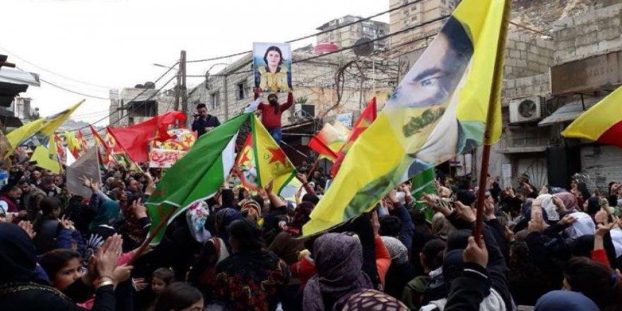Esed ve PKK/PYD Kolkola Afrin Operasyonunu Protesto Etti