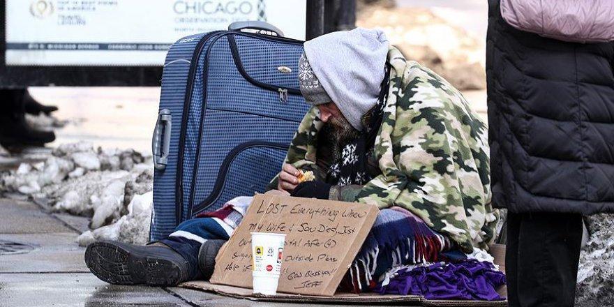 ABD'de Evsizler Zorlu Kış Şartlarıyla Mücadele Ediyor