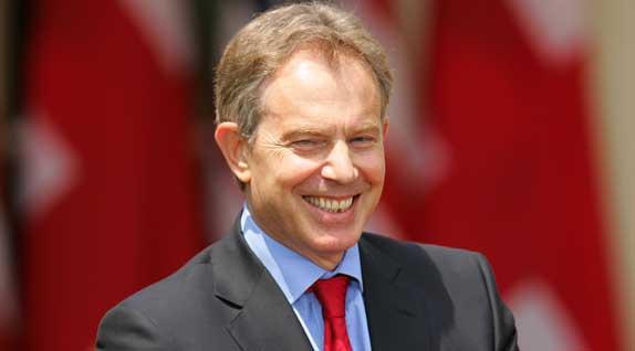 Tony Blair, Darbeye Destek Verdi