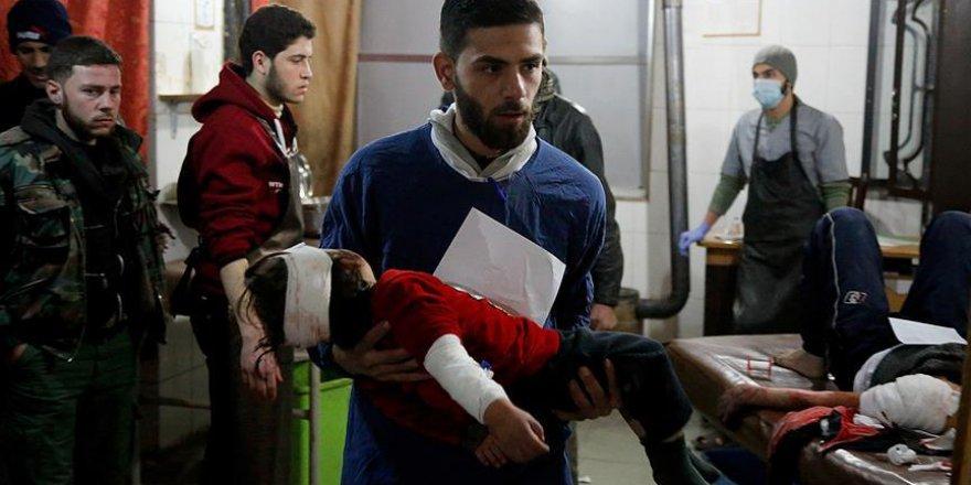 Esed Rejiminin Doğu Guta Katliamları Tüm Hızıyla Sürüyor