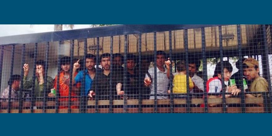 Hatay Göç İdaresi'nde Tutulan Uygur Türklerinden Açlık Grevi!