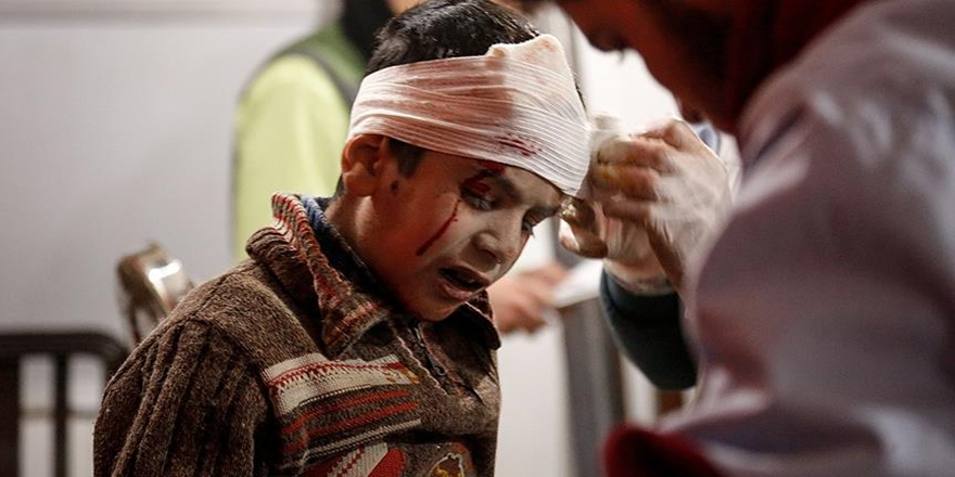 UNICEF'ten Doğu Guta Protestosu: Kelimeler Yetersiz