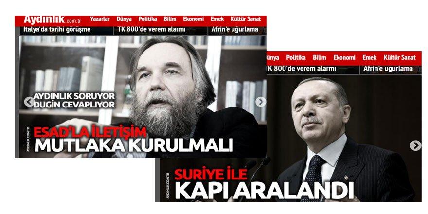 Türkiye'yi Katil Esed'le Barıştırma Çabaları ve Doğu Perinçek