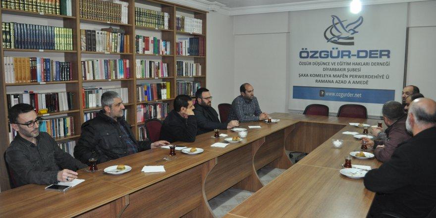 İhvan-Der'den Diyarbakır Özgür-Der'e Ziyaret