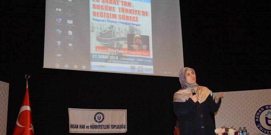 Adnan Menderes Üniversitesinde 28 Şubat Konulu Konferans