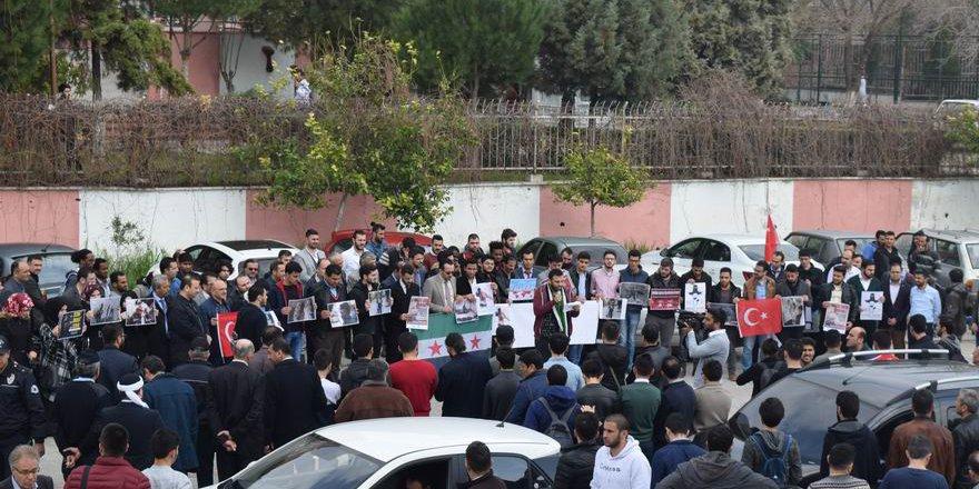 Doğu Guta'daki Katliamlar Aydın'da Protesto Edildi
