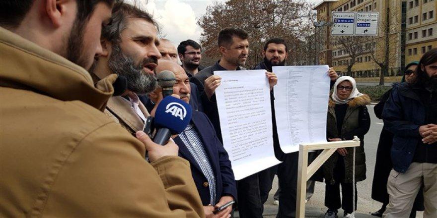 Ankara'da Doğu Guta Eylemine Müdahale