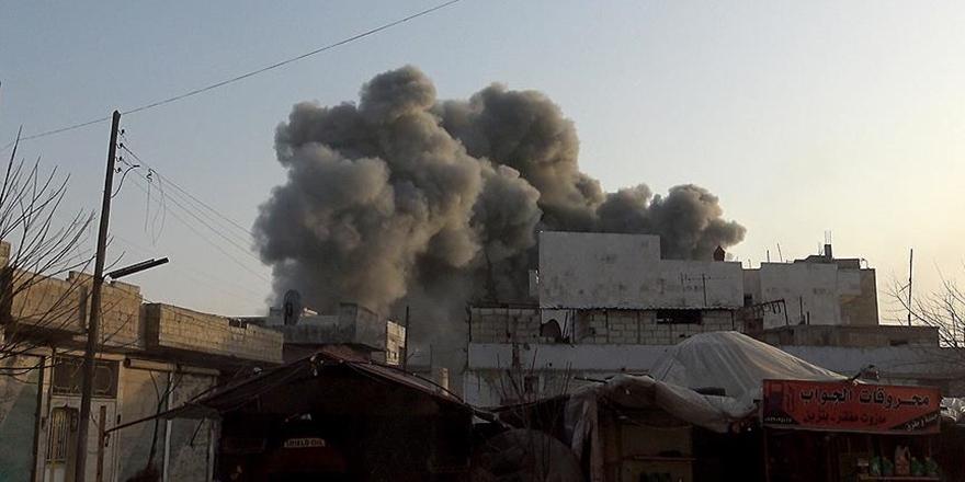 Esed BMGK Kararına Rağmen İdlib ve Hama'ya da Saldırdı!