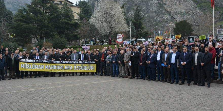28 Şubat Darbesi Amasya'da Telin Edildi