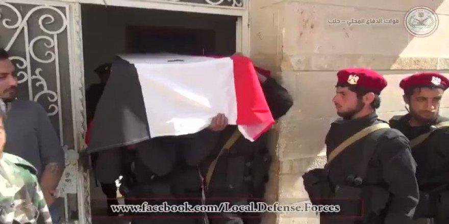 TSK Tarafından Afrin'de Öldürülen 36 İran/Esed Askerine Tören