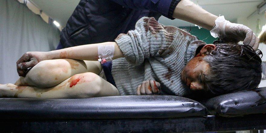 Esed Rejimi ve Destekçileri Doğu Guta'da 10 Sivili Öldürdü