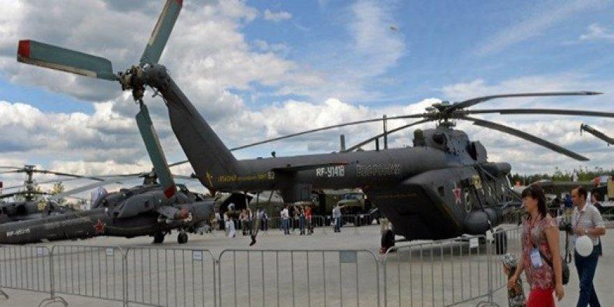 Çeçenistan'da Katil Rusya'nın Helikopteri Düştü: 7 Ölü