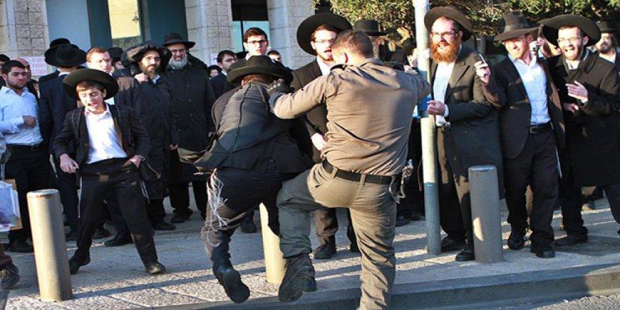 İşgalci İsrail'in Başı Ortodoks Yahudilerle Dertte