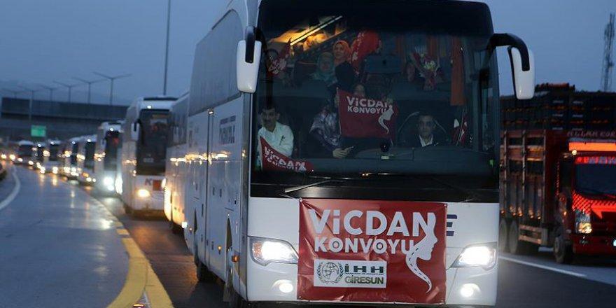 'Vicdan Konvoyu' Adana'da