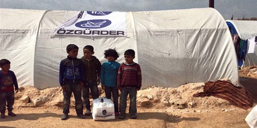 Özgür-Der'den Atme Kampındaki Suriyeli Kardeşlerimize Yardım Eli