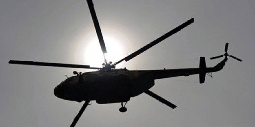 Direnişçiler Doğu Guta'da Savaş Helikopteri Düşürdü