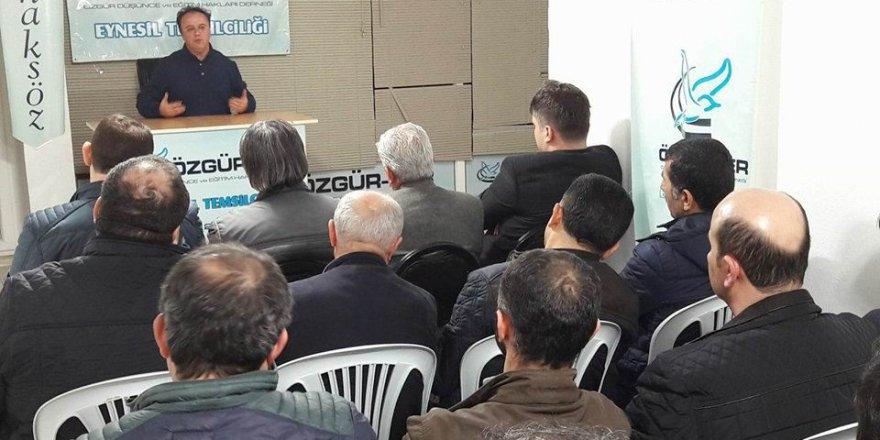 Eynesil'de 'Nureddin Zengi ve Kudüs Davamız' Konuşuldu
