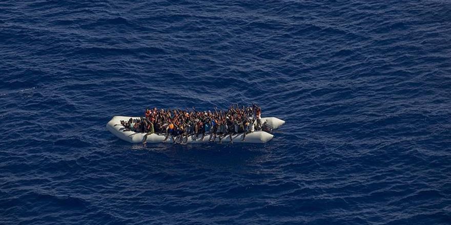 Libya Açıklarında 119 Göçmen Kurtarıldı