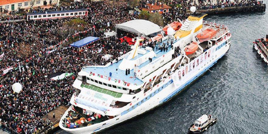 Mavi Marmara Gemisi Artık Sadece Bir Hatıra