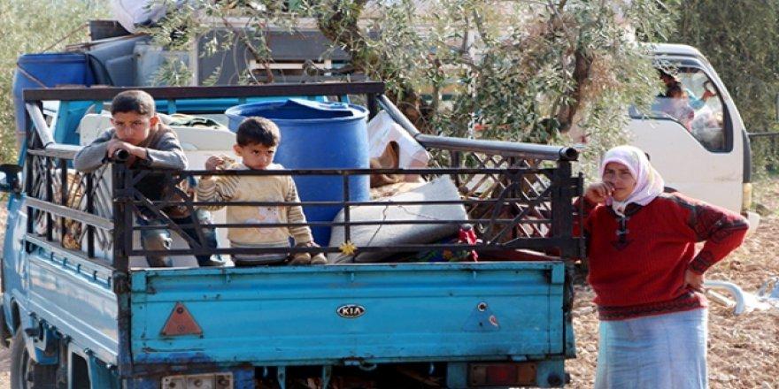 BM: Afrin'den Son Birkaç Günde 48 Bin Kişi Ayrıldı