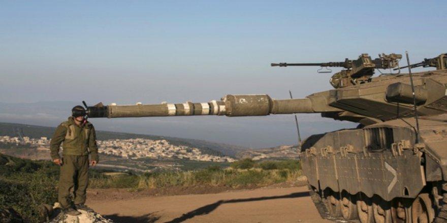 İşgalci İsrail Gazze'yi Tanklarla Vurdu