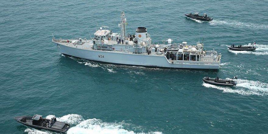 Katar ve Pakistan'dan Deniz Tatbikatı