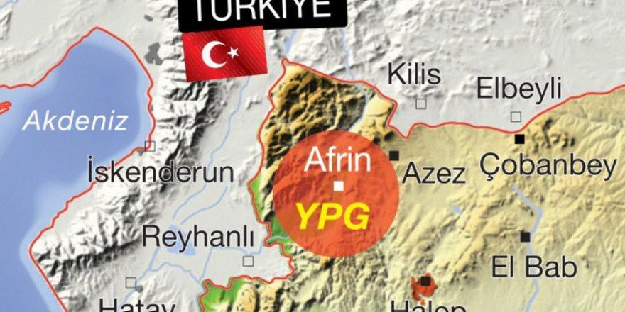 Afrin'de Sadece PYD/PKK Yenilmedi!