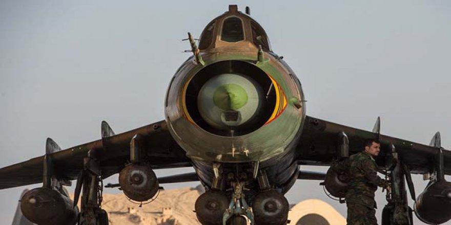 ÖSO Şam'da Rejim Uçağını Düşürdü