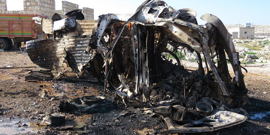 Rusya'dan İdlib'deki Sığınmacı Kampına Hava Saldırısı: 10 Ölü
