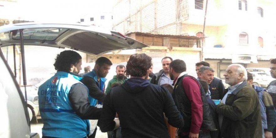 Türkiye Diyanet Vakfı'ndan Afrin'e Yardım