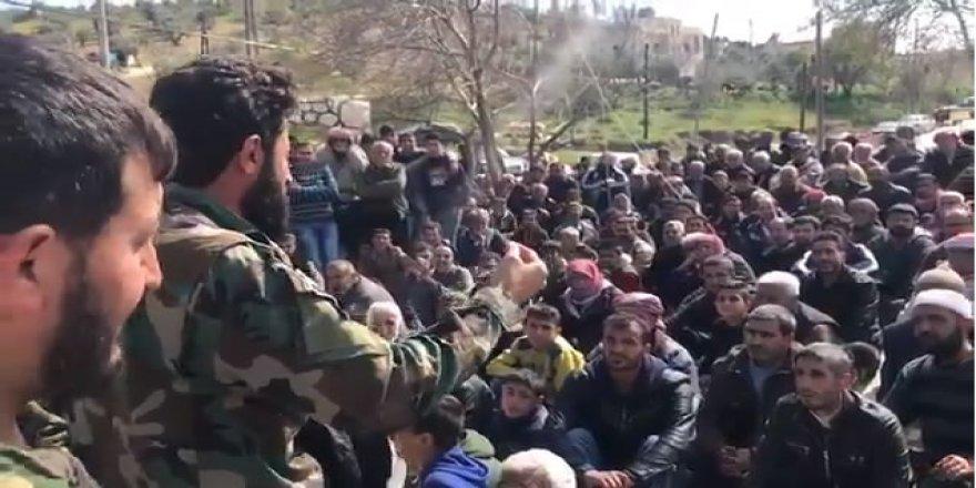 """ÖSO'lu Komutan'dan Afrin Halkına; """"Bizler Müslüman Kardeşleriz"""""""