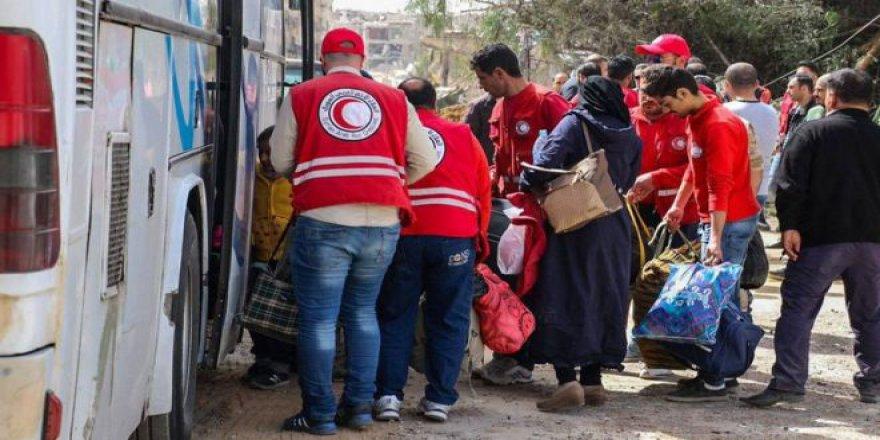 Anlaşma Neticesinde Bir Grup Savaşçı İdlib'e Gitmek Üzere Guta'dan Ayrıldı!