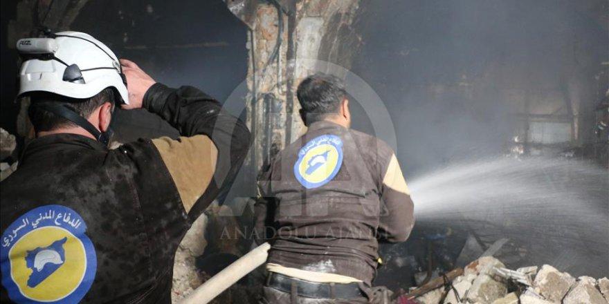 Rusya İdlib'de Pazar Yerindeki Sivilleri Katletti: 42 Ölü, 72 Yaralı