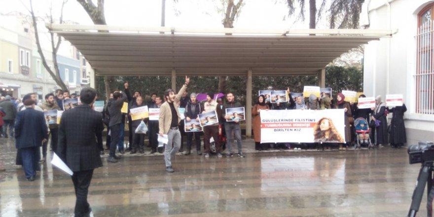 Siyonist Mahkemenin Ahed Tamimi Kararı Sakarya'da Protesto Edildi