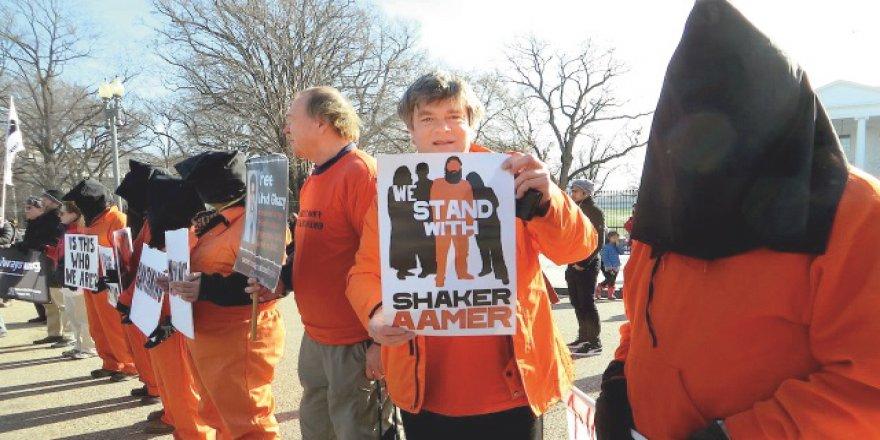 En Korkunç Hapishane Guantanamo'ya Başkaldırdı