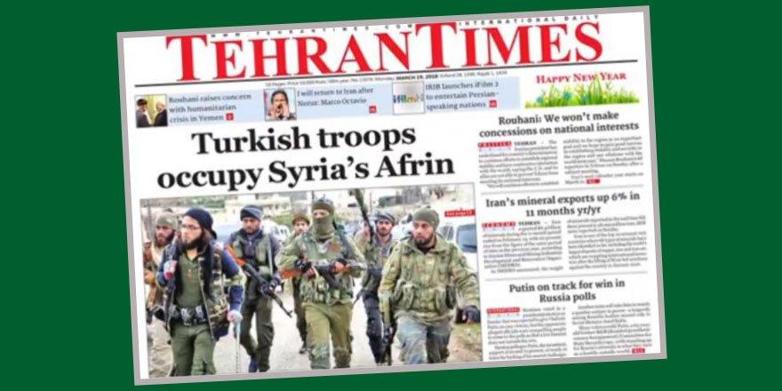 """Astana'da """"Dost"""" Maskesi Takan İran, Basın Yoluyla Türkiye'yi İşgalcilikle Suçladı"""
