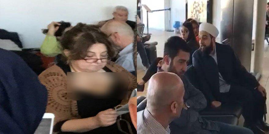 Kemalist Kadın Havaalanında Yolcuları Hizaya Getirmeye Kalkıştı!