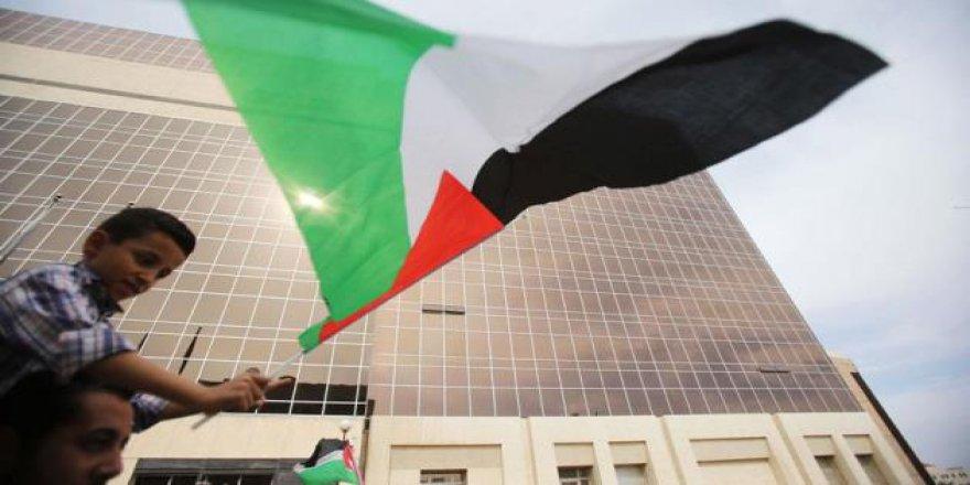 Ürdün Halkından Filistinlilere Destek Eylemi