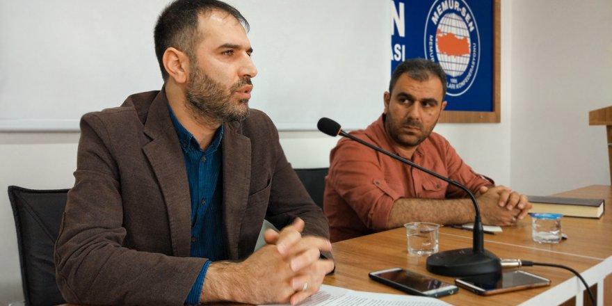 "Muş Özgür-Der'de ""Ercümend Özkan"" Semineri"